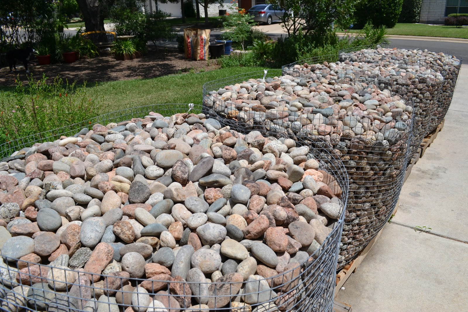 Summer the unruly gardener for Landscaping rocks by the ton